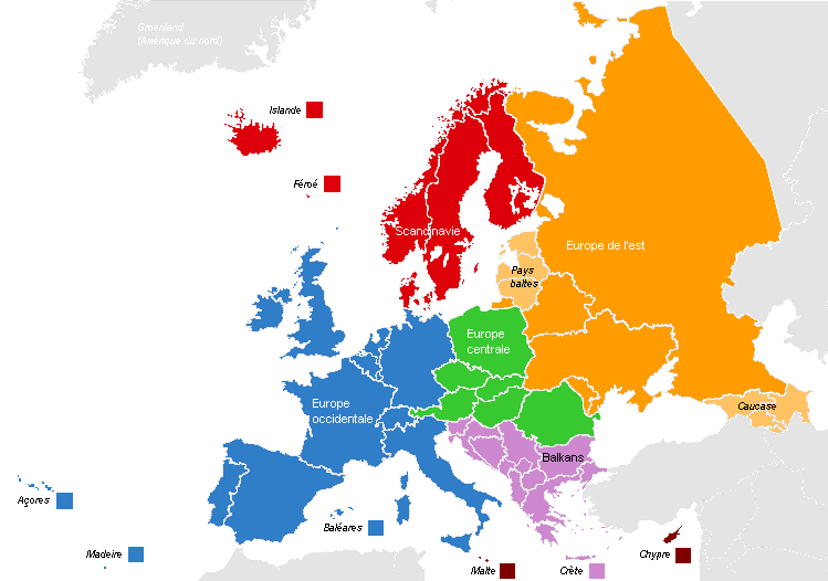carte europe jeu